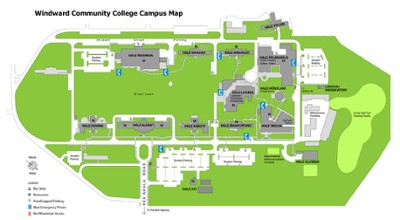 Map of Windward Community College