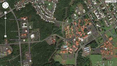 Interactive map of UH Hilo